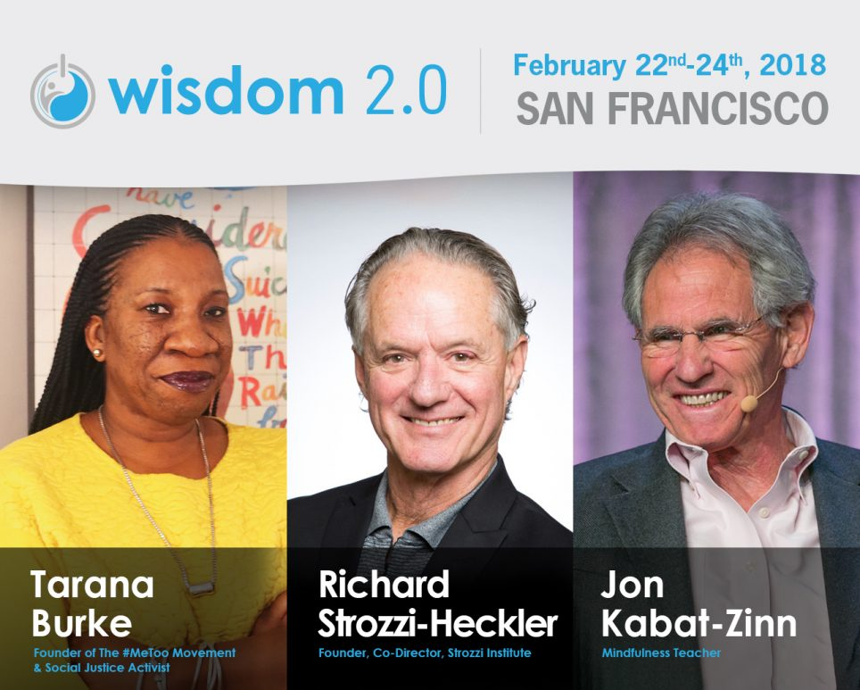 Strozzi Institute Hosting the Embodiment Lounge at Wisdom 2.0, Feb 22-24